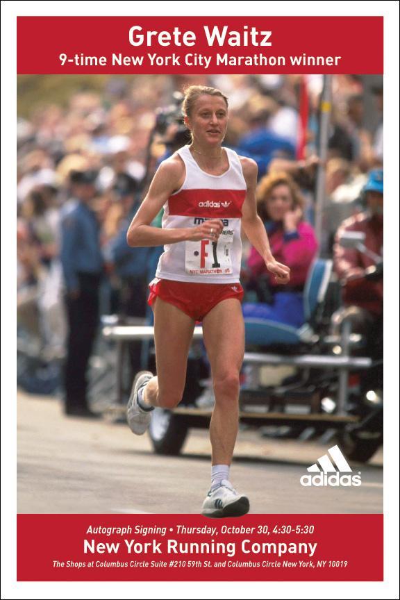 bra Grete Waitz marathon running naked photo 2017