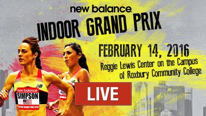 new balance indoor grand prix on tv