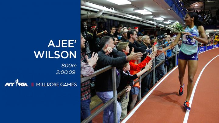 USATF.TV - Videos - Ajee Wilson Women's 800m Winner - NYRR ...
