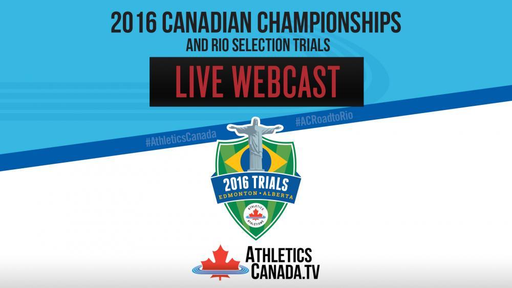 AthleticsCanada TV - Videos - LIVE Webcast - Canadian Championships