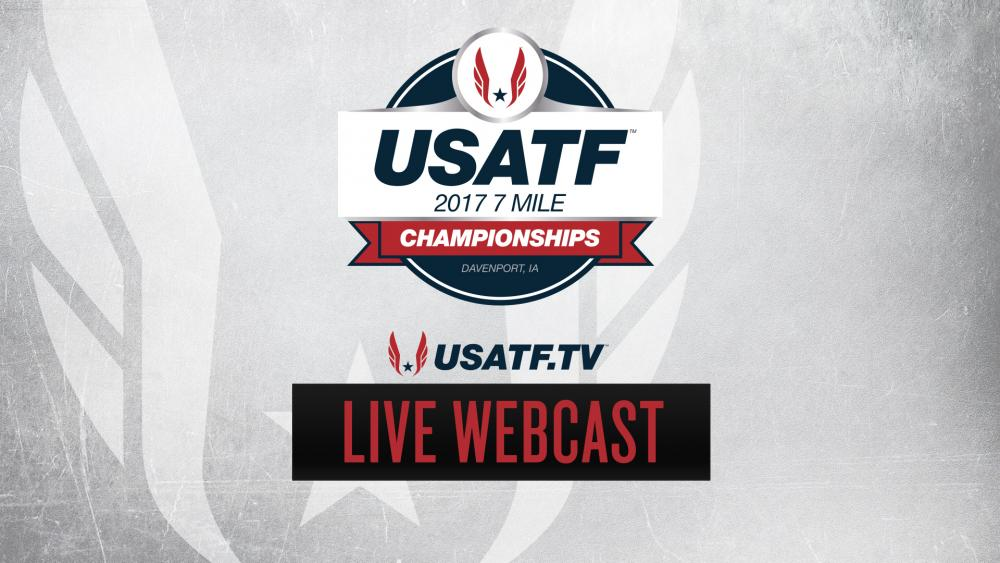 News - 7/29/17 - USATF 7 Mile Championships Live Webcast Info