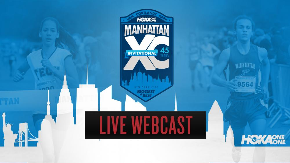 The 2017 Manhattan High School Cross Country Invitational will be broadcast live from Van Cortlandt Park in New York City on Saturday, October 14.