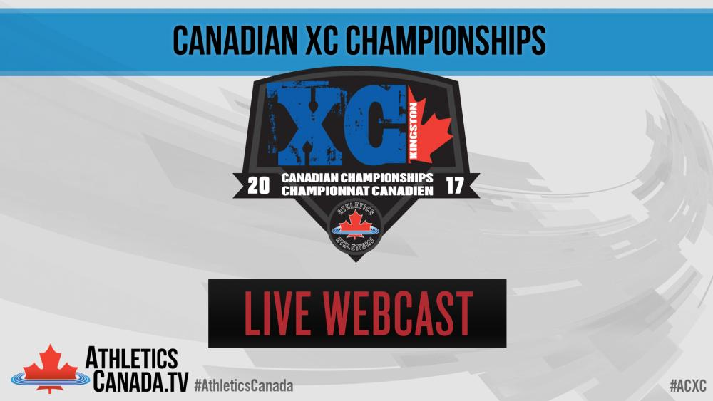 LIVE Webcast - Canadian Cross Country Championships 2017