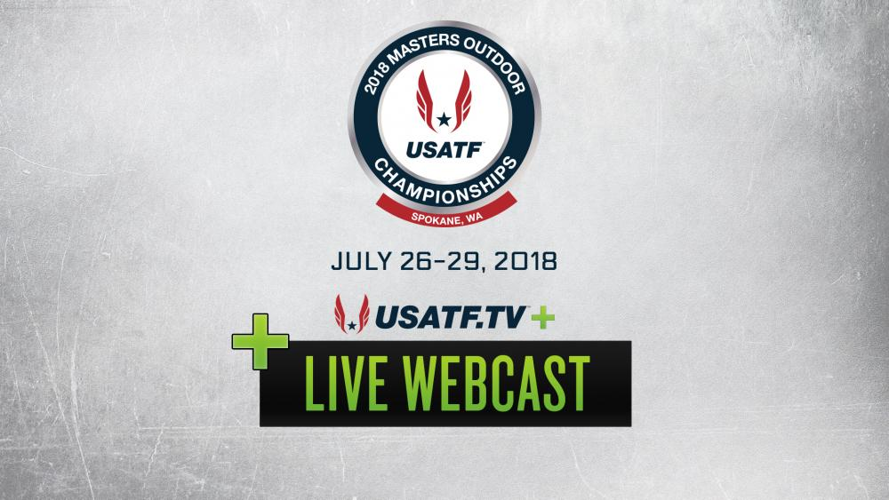 Usatf Videos Live Webcast Usatf Masters Outdoor