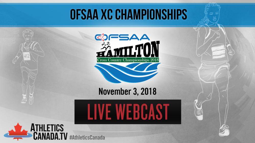 4c49ef72815d2 LIVE Finish Line Webcast - Ontario OFSAA Cross Country Provincial  Championships 2018