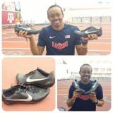 @amhurdlestar Aries Merritt 18 hrs Tested out my new spikes today courtesy of my new sponsor @Nike #makeitcount pic.twitter.com/CJaBajUjaD