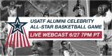 USATF Alumni Celebrity All-Star Basketball Game 2012