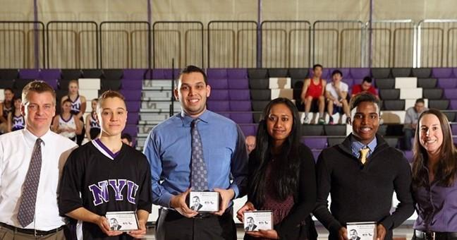 News - Hunter Honors Two Student-Athletes With MLK Service Award