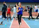 D1 Central Connecticut State Womens T&F - Saunders Tabbed NEC Rookie of the Week