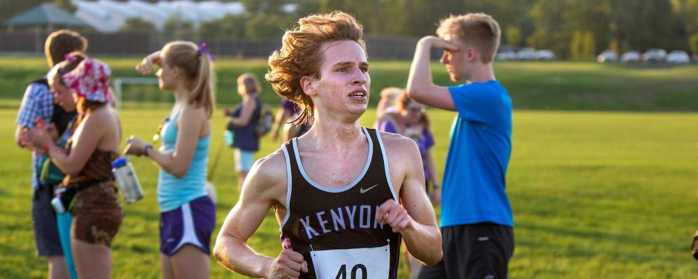 Kenyon College Track and Field and Cross Country - Gambier, Ohio - News - Men's  Cross Country: Johnson paces way for Lords at All-Ohio