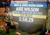 ArmoryTrack.com - News - Coach Derek Thompson, Star Runner Ajee' Wilson are Winning Partnership