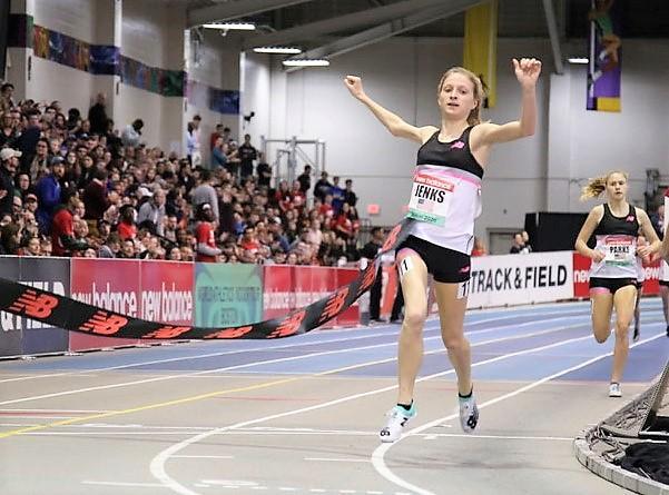 new balance indoor grand prix junior mile
