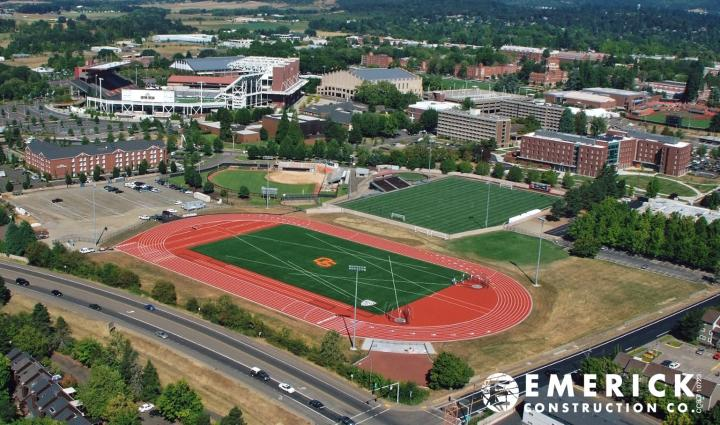 Oregon State Ribbon Cutting Ceremony Of Phase 1 Of The Whyte Track