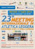 2012 Results - Meeting Sport Solidarieta - Lignano