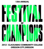 2012 Results - Festival of Champions