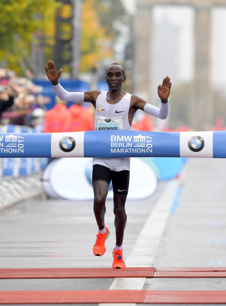 b5a25d19b3381 Eliud Kipchoge to Race London Marathon Shoes that Give New Meaning to Custom