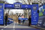 Joyciline Jepkosgei and Belay Tilahun Win United Airlines NYC Half - DyeStat Road Race Round-Up - 3/17/19
